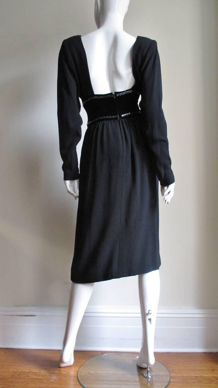 Vintage Bob Mackie Trompe L'oeil Belt Dress 7