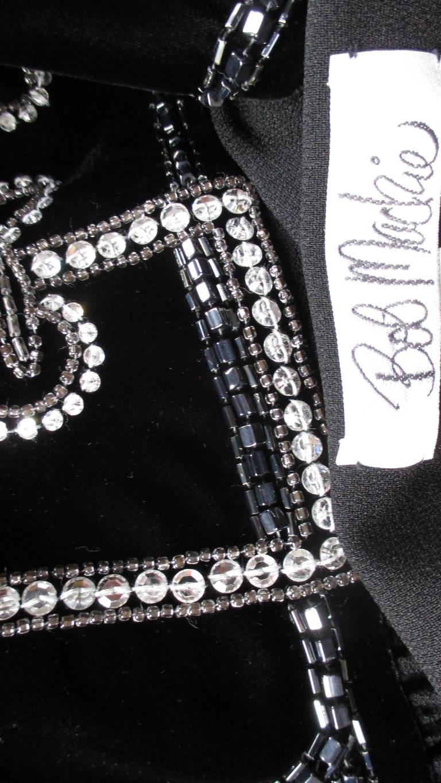 Vintage Bob Mackie Trompe L'oeil Belt Dress 8