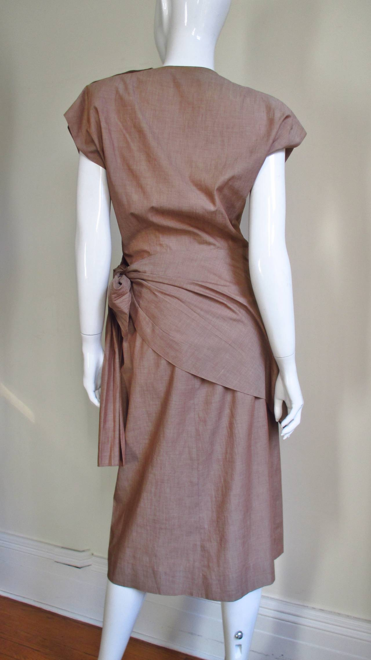 1940 S Adele Simpson Wrap Top And Skirt For Sale At 1stdibs