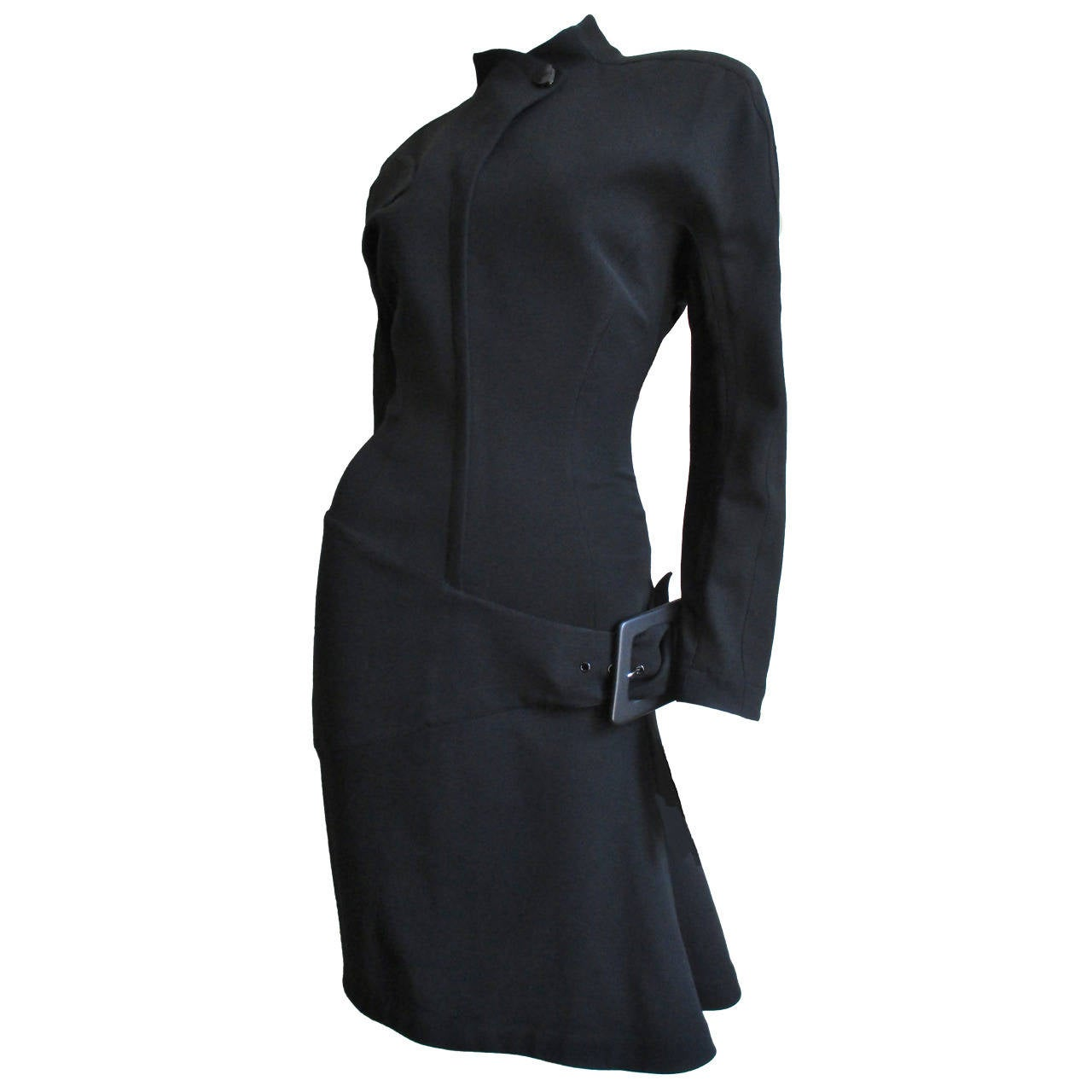 Thierry Mugler Asymmetical Hem Dress 1