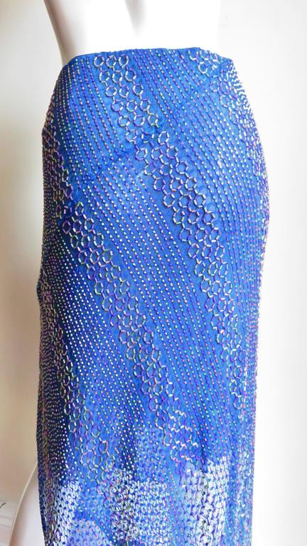 Beaded Ordinary People High Low Skirt 6