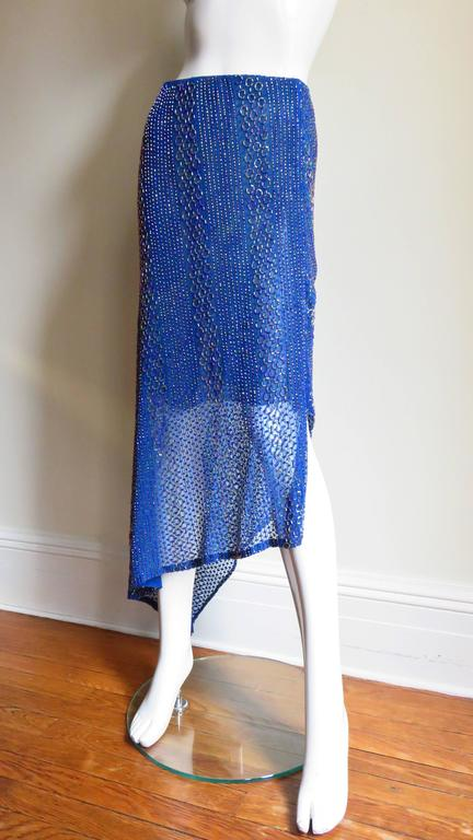 Beaded Ordinary People High Low Skirt 3