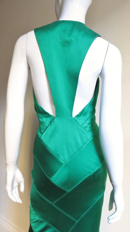 Women's 1990s Gianni Versace Silk Glamour Gown For Sale