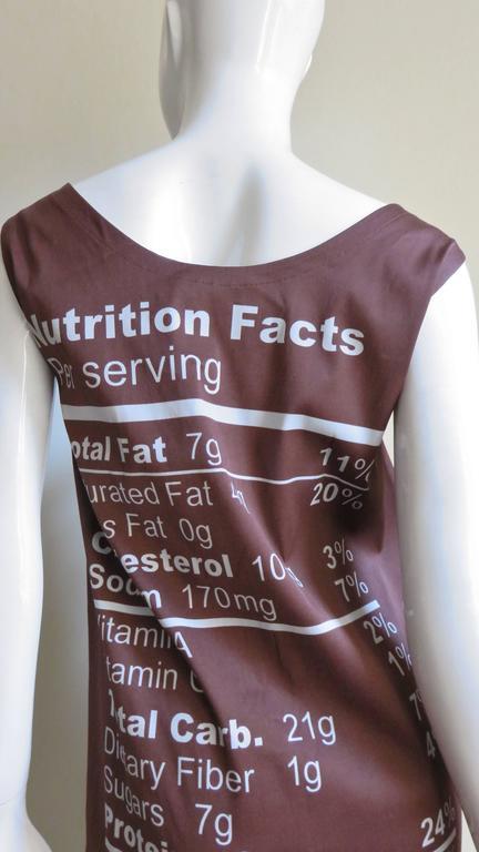 Fabulous Jeremy Scott Moschino Chocolate Bar Dress 7