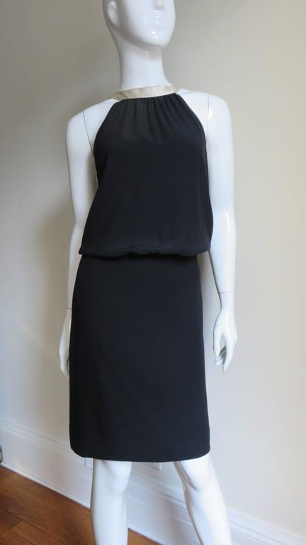 1990s Moschino Couture Necktie Back Dress 5