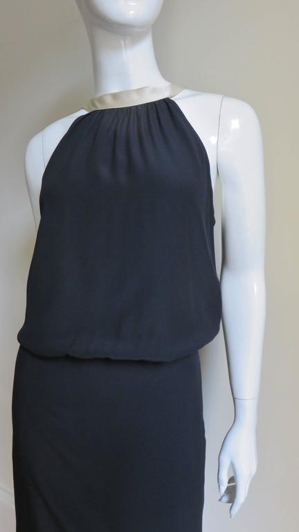 1990s Moschino Couture Necktie Back Dress 7