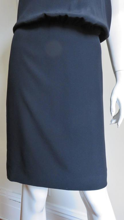 1990s Moschino Couture Necktie Back Dress 8