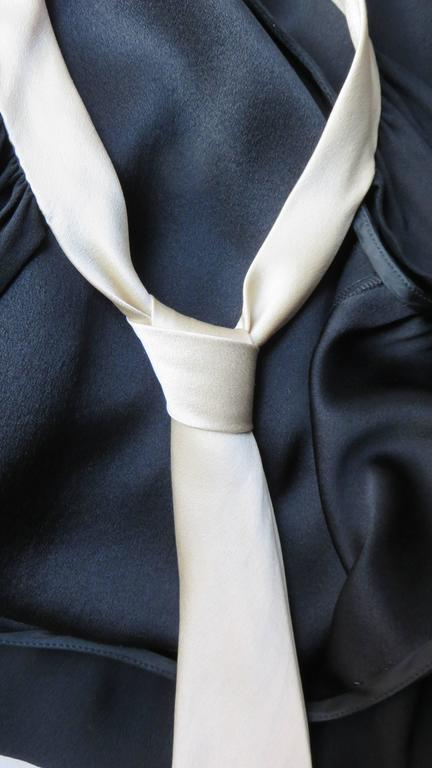 1990s Moschino Couture Necktie Back Dress 10