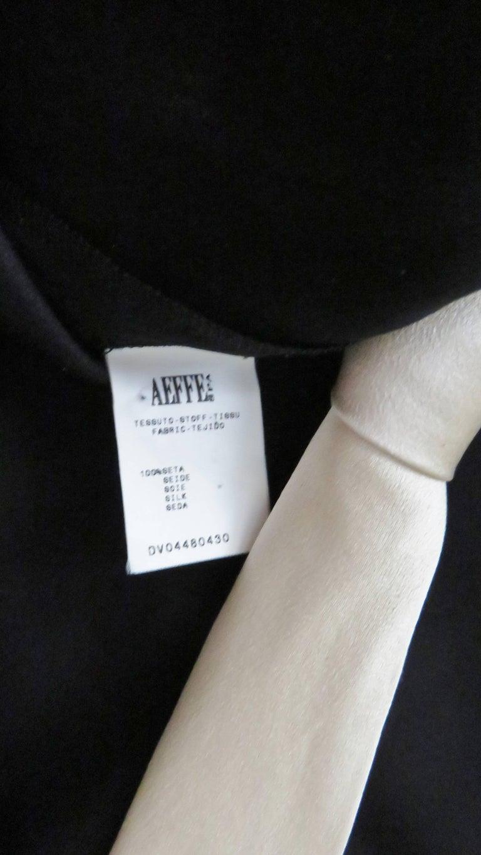 1990s Moschino Silk Scoop Back Necktie Dress For Sale 5