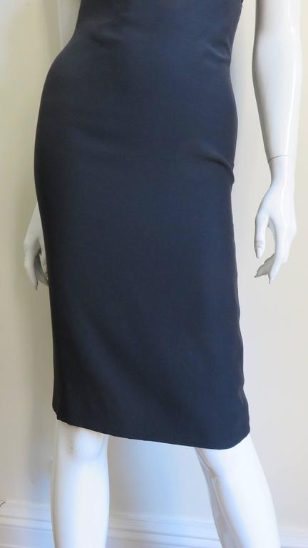 Gianni Versace Vintage One Shoulder Dress w Cut-out 5