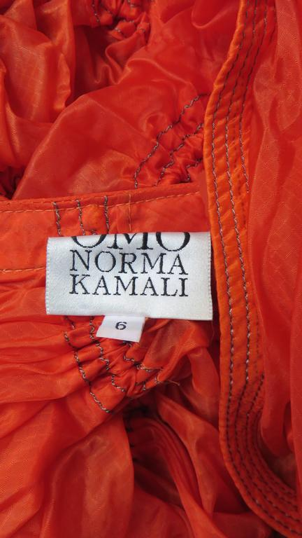 Rare Iconic Museum Exhibited 1970's Norma Kamaili Parachute Skirt For Sale 5