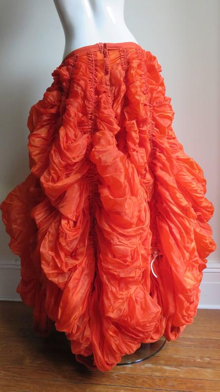 Rare Iconic Museum Exhibited 1970's Norma Kamaili Parachute Skirt 8