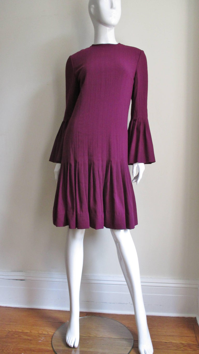 Pierre Cardin 1960's Seamed Dress 5