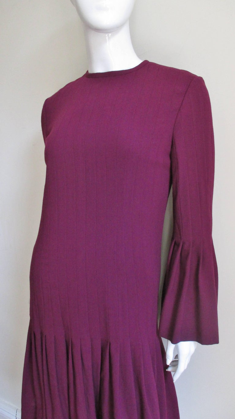 Pierre Cardin 1960's Seamed Dress 3