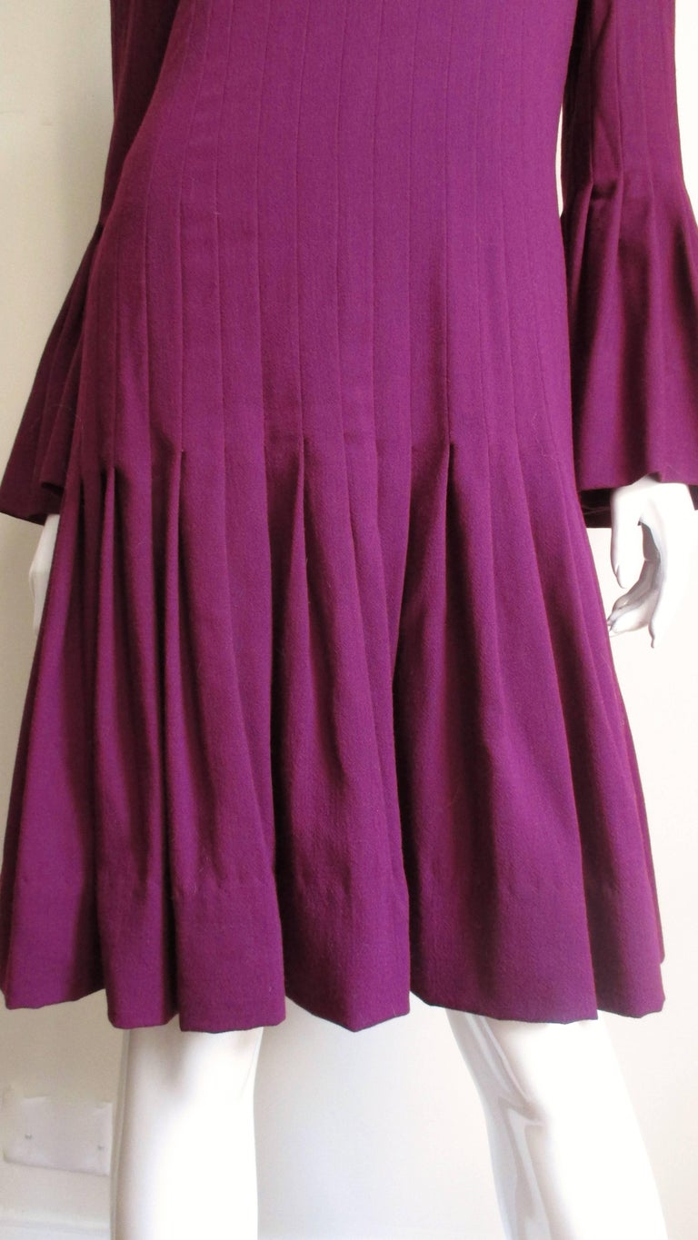 Pierre Cardin 1960's Seamed Dress 4
