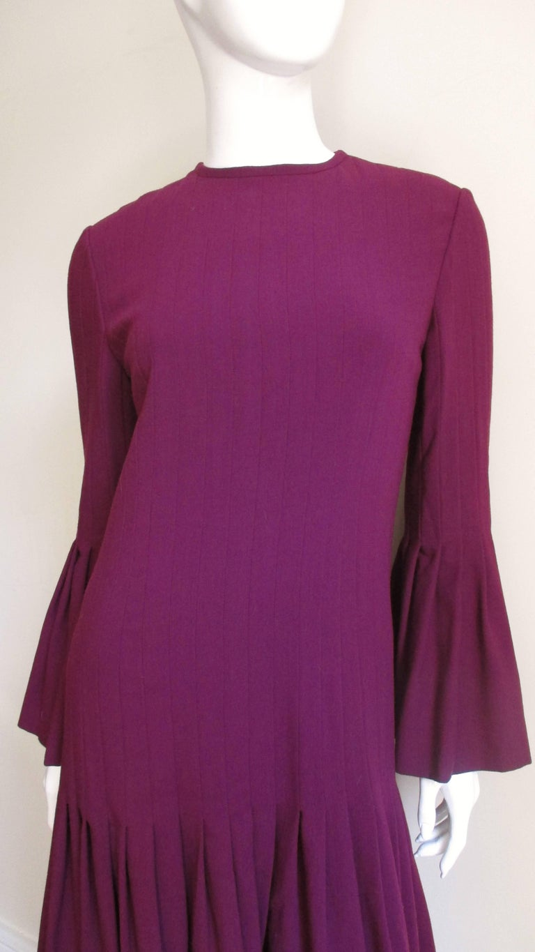 Pierre Cardin 1960's Seamed Dress 2