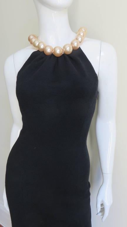 Women's Moschino Pearl Collar Dress For Sale