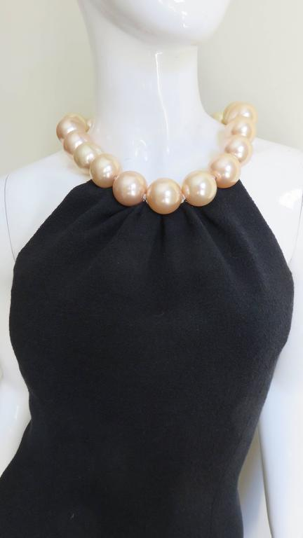 Moschino Pearl Collar Dress For Sale 1