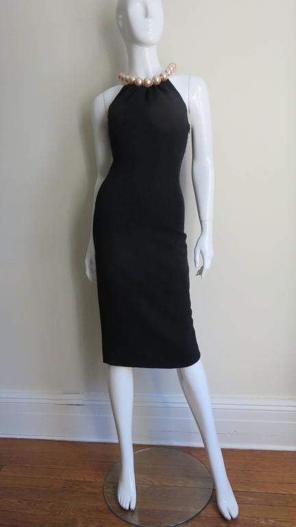 Moschino Pearl Collar Dress For Sale 4