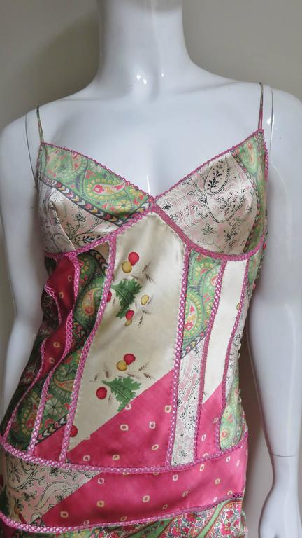 John Galliano for Christian Dior Silk Slip Dress 3