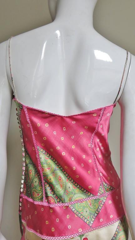 John Galliano for Christian Dior Silk Slip Dress 8