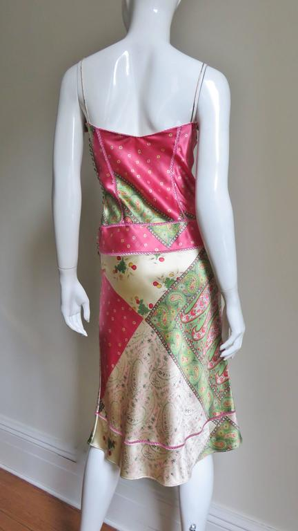 John Galliano for Christian Dior Silk Slip Dress 7
