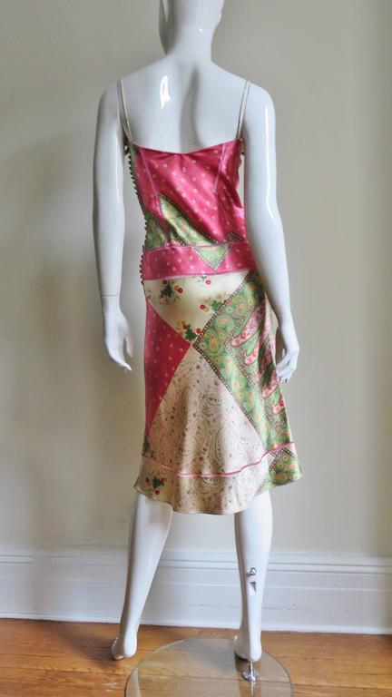 John Galliano for Christian Dior Silk Slip Dress 9