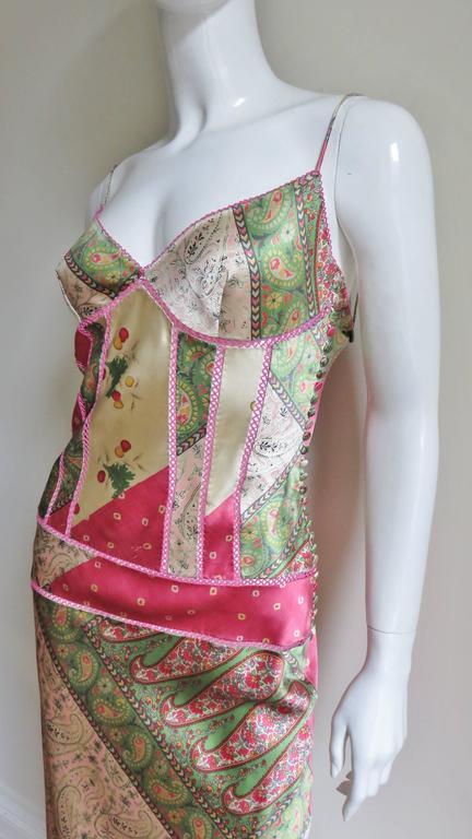 John Galliano for Christian Dior Silk Slip Dress 4