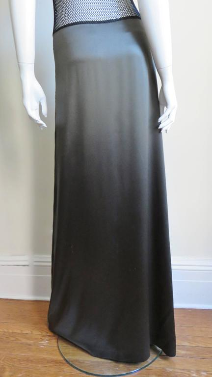1990s Jean Paul Gaultier Slip Dress With Sheer Inserts & Fringe 8