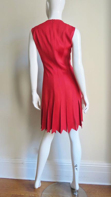 Moschino Car Wash Hem Dress 8