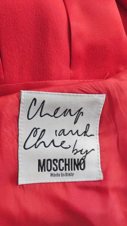 Moschino Car Wash Hem Dress 9