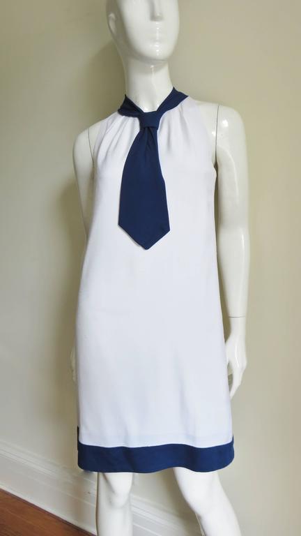 1960's Pierre Cardin Colorblock Dress 2
