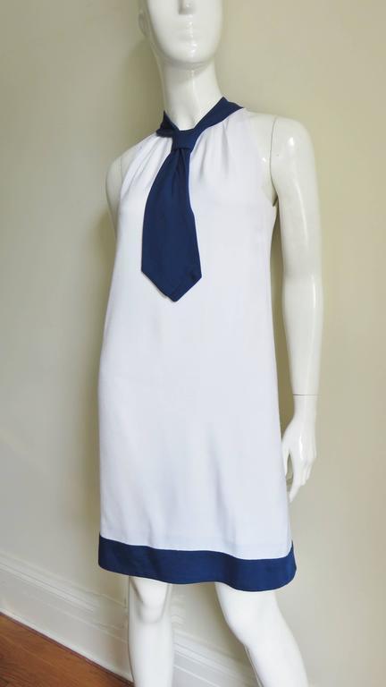 1960's Pierre Cardin Colorblock Dress 6