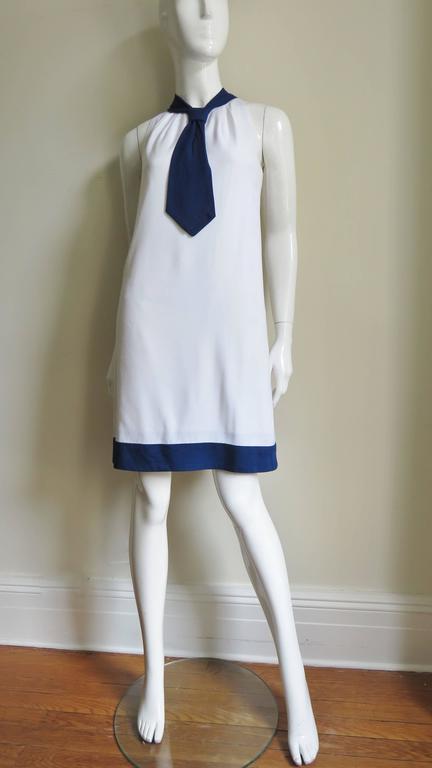 1960's Pierre Cardin Colorblock Dress 7
