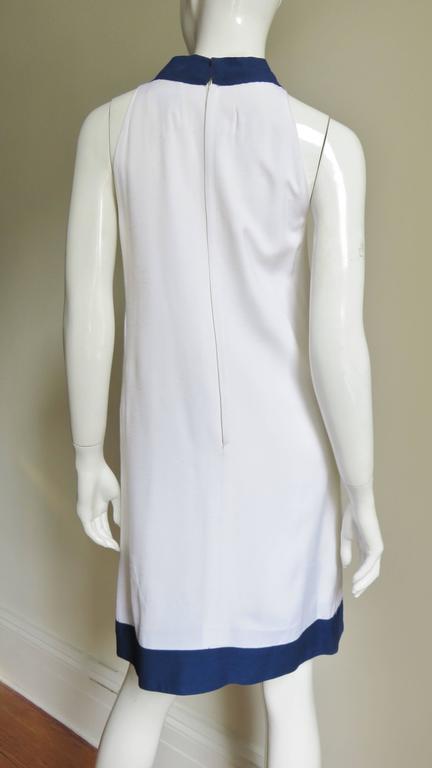 1960's Pierre Cardin Colorblock Dress 8