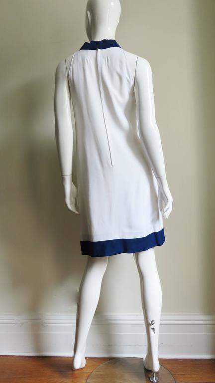 1960's Pierre Cardin Colorblock Dress 9