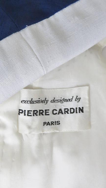 1960's Pierre Cardin Colorblock Dress 10