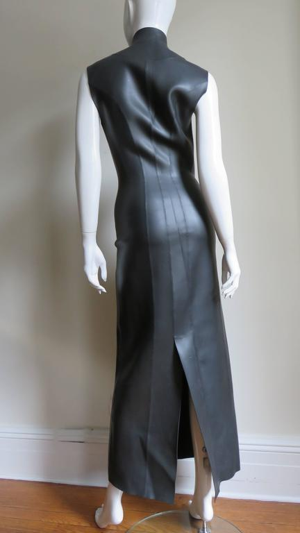 Jean Paul Gaultier Scuba Cheongsam Maxi Dress 7