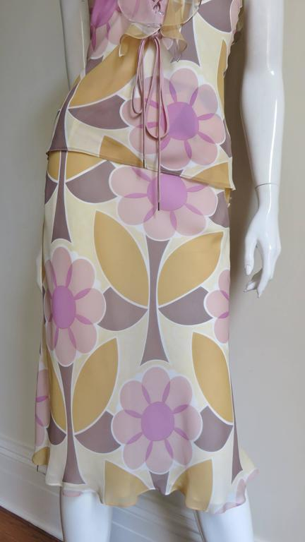 Christian Dior Fabulous Laceup Top & Skirt 5