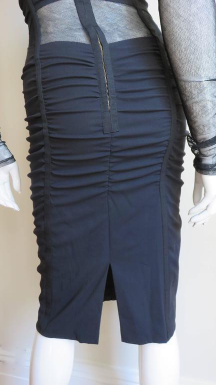 Dolce & Gabbana Corset Mesh Cutout Dress 8