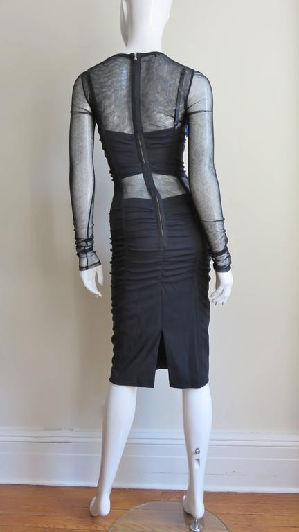 Dolce & Gabbana Corset Mesh Cutout Dress 9