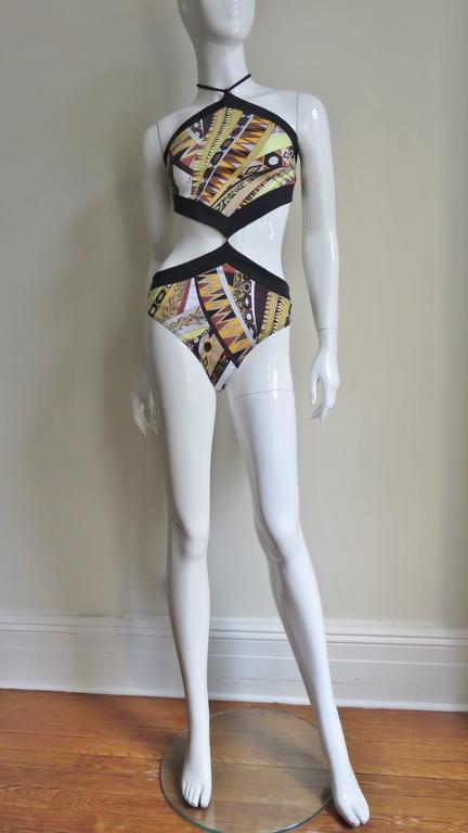 c8ce82f4d4bf0 Women's New Emilio Pucci Monokini Swimsuit For Sale