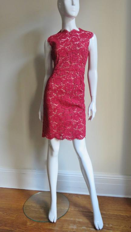 Valentino Fabulous Lace Dress For Sale 1