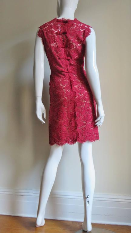 Valentino Fabulous Lace Dress For Sale 4