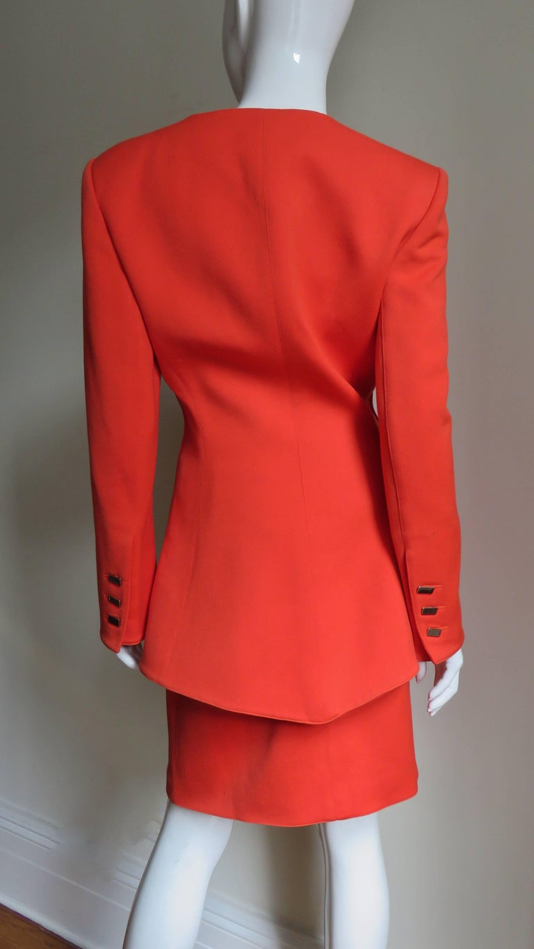 Claude Montana New Skirt Suit  For Sale 4