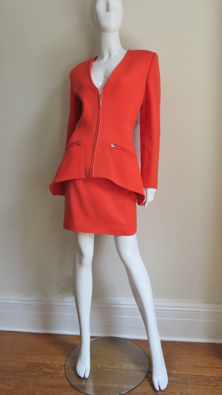 Claude Montana New Skirt Suit  For Sale 3
