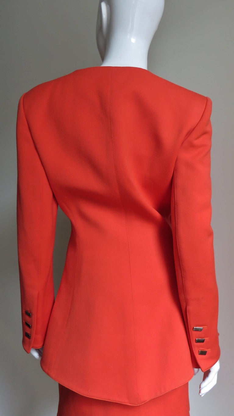 Claude Montana New Skirt Suit  For Sale 5