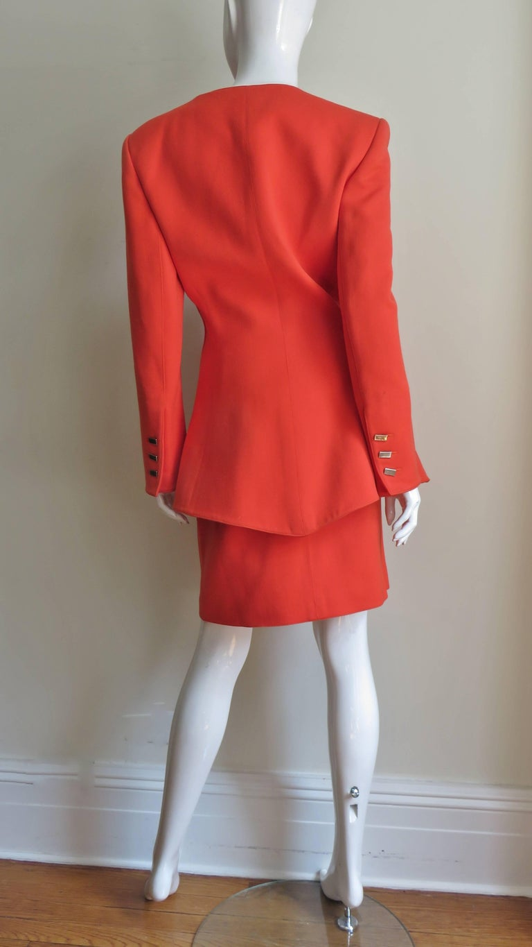 Claude Montana New Skirt Suit  For Sale 7