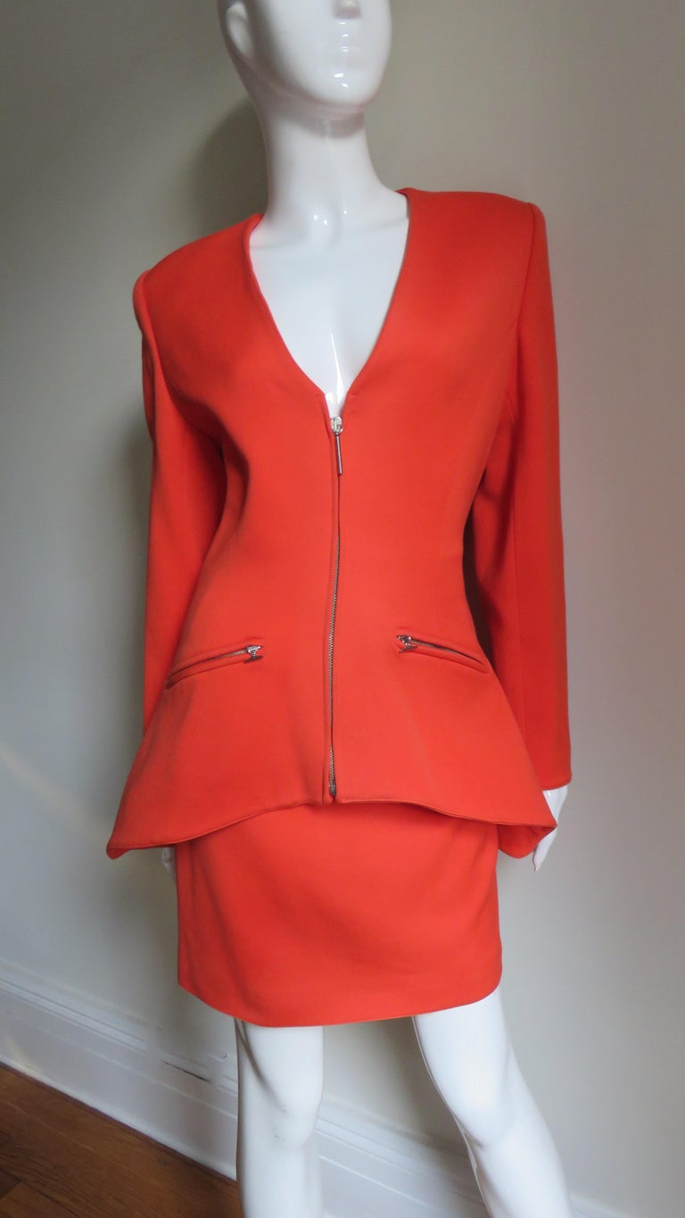 Claude Montana New Skirt Suit  For Sale 2
