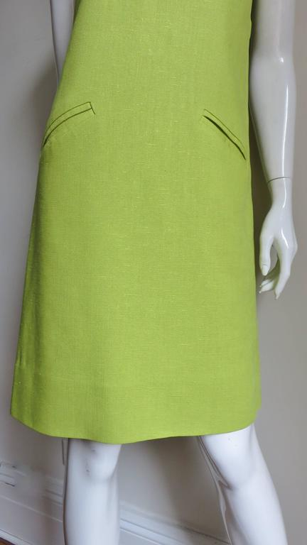 1960's B. H. Wragge Mod Flower Cutout Dress For Sale 1
